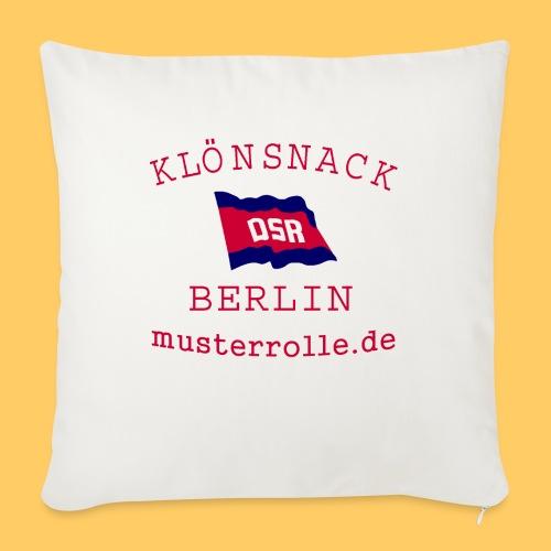 KiB-Logo-gif - Sofakissenbezug 44 x 44 cm