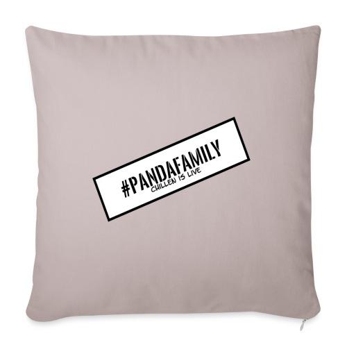 #PandaFamily [Balken] - Sofakissenbezug 44 x 44 cm