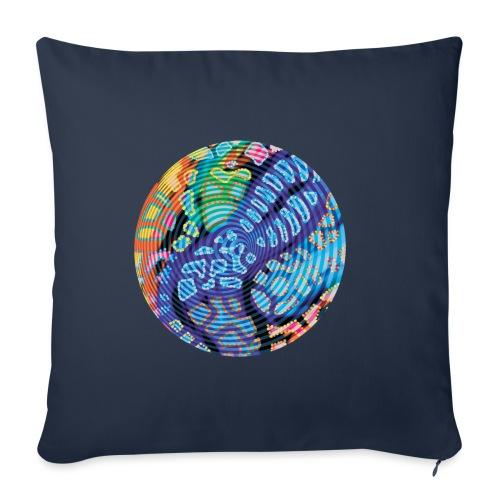 concentric - Sofa pillowcase 17,3'' x 17,3'' (45 x 45 cm)