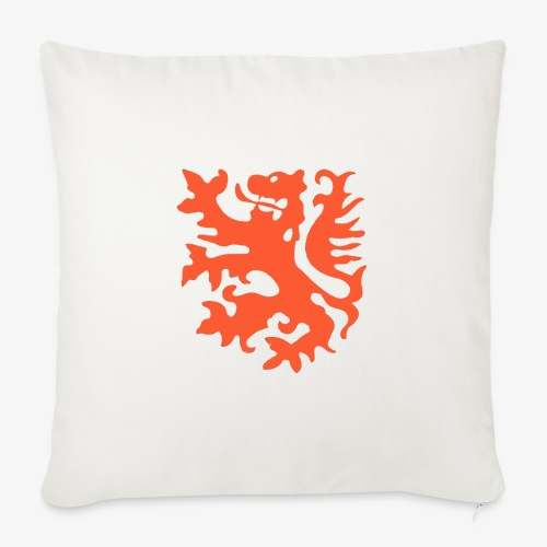 Orange lion Replica Holland 1974 - Sofa pillowcase 17,3'' x 17,3'' (45 x 45 cm)