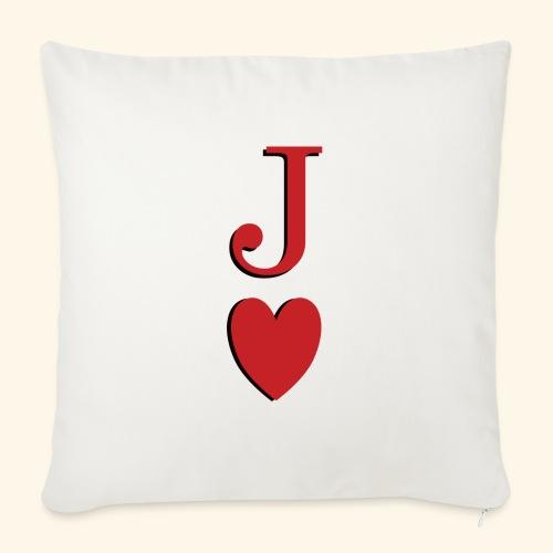 Valet de trèfle - Jack of Heart - Reveal - Housse de coussin décorative 45x 45cm