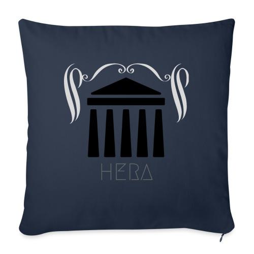 HERA - Housse de coussin décorative 45x 45cm