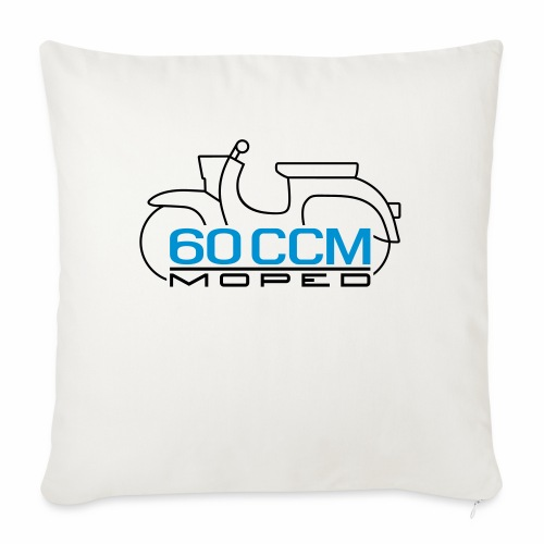 Moped Schwalbe 60 ccm Emblem - Sofa pillowcase 17,3'' x 17,3'' (45 x 45 cm)