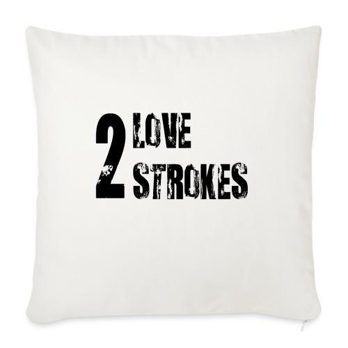Love 2 Strokes - Copricuscino per divano, 45 x 45 cm