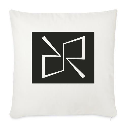Rymdreglage logotype (RR) - Sofa pillowcase 17,3'' x 17,3'' (45 x 45 cm)