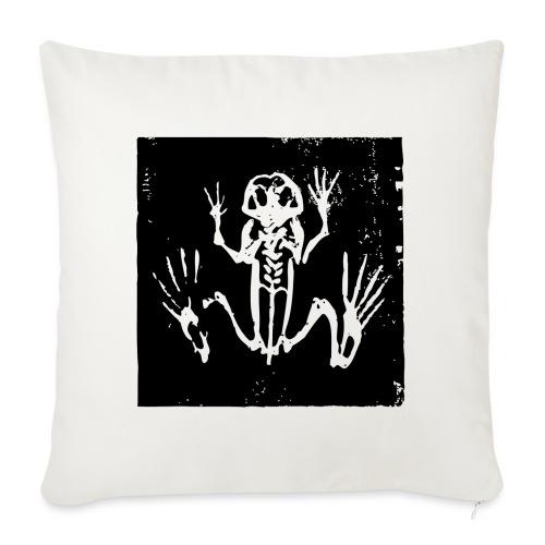 Museum Frog Skeleton - Sofa pillowcase 17,3'' x 17,3'' (45 x 45 cm)