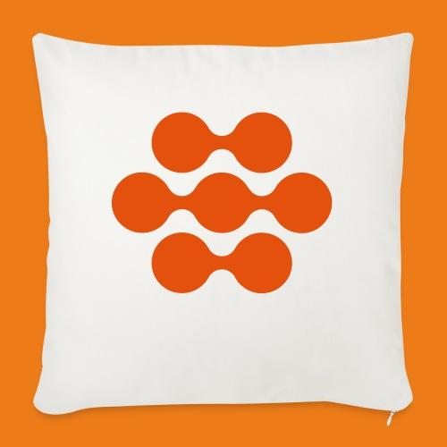 seed madagascar logo squa - Sofa pillowcase 17,3'' x 17,3'' (45 x 45 cm)