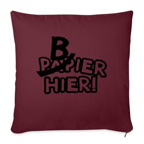 bbb_bierhier - Sofa pillowcase 17,3'' x 17,3'' (45 x 45 cm)