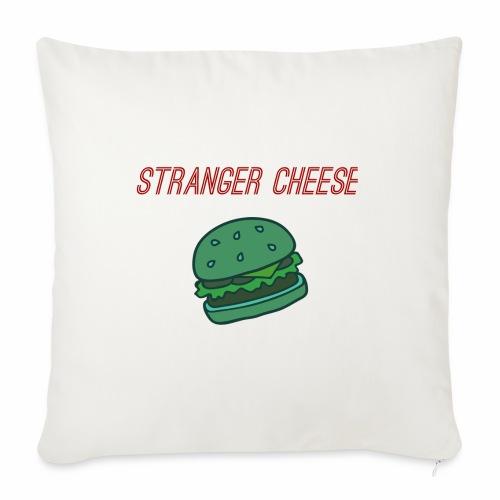 Stranger Cheese - Housse de coussin décorative 45x 45cm