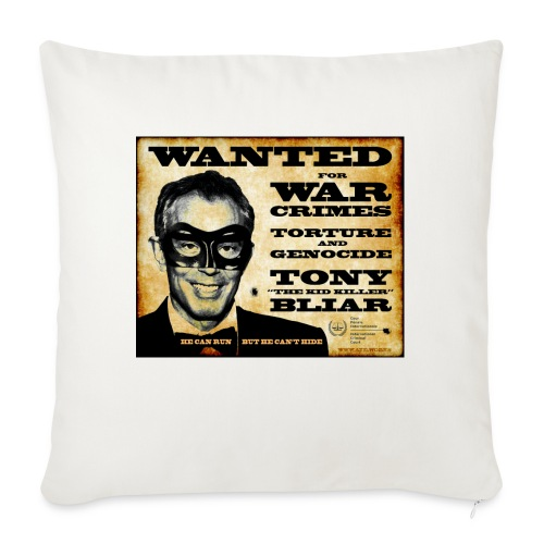 Wanted - Sofa pillowcase 17,3'' x 17,3'' (45 x 45 cm)