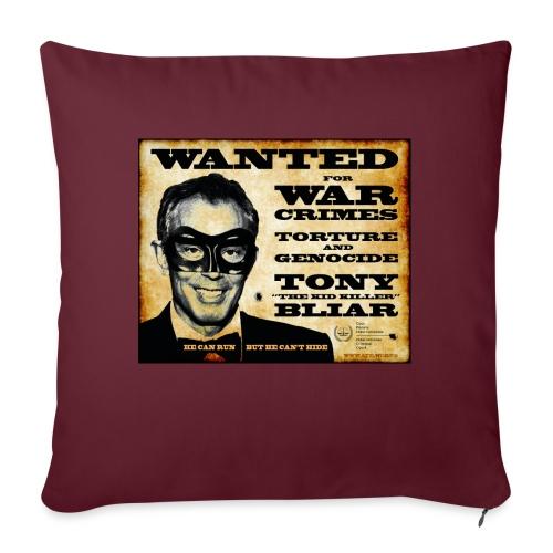 Wanted - Sofa pillowcase 17,3'' x 17,3'' (45 x 45 cm)