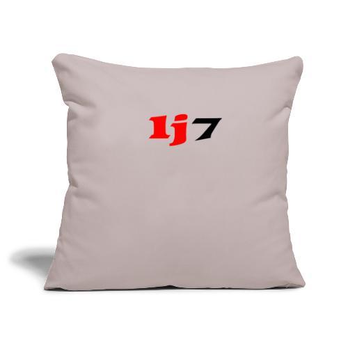 lj7 - Soffkuddsöverdrag, 45 x 45 cm