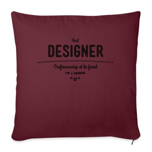 Bester Designer - Handwerkskunst vom Feinsten, wie - Sofakissenbezug 44 x 44 cm