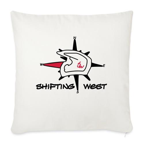 Shifting West Logo vector - Sierkussenhoes, 45 x 45 cm