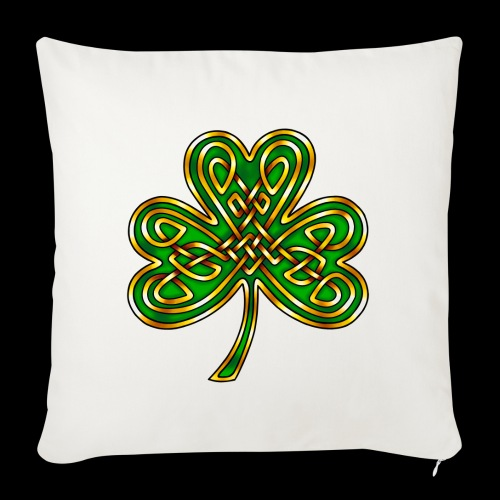 Celtic Knotwork Shamrock - Sofa pillowcase 17,3'' x 17,3'' (45 x 45 cm)