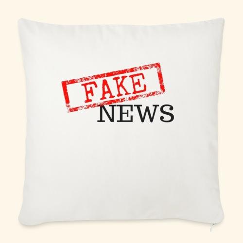 fake news - Sofa pillowcase 17,3'' x 17,3'' (45 x 45 cm)