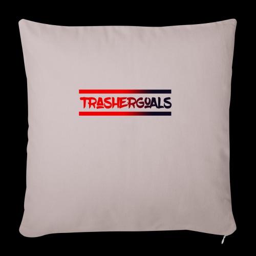 trashergoals lgo red-black - Sierkussenhoes, 45 x 45 cm