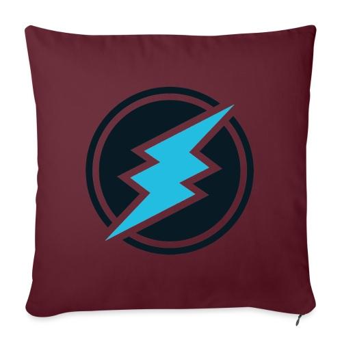 ETN logo - Sofa pillowcase 17,3'' x 17,3'' (45 x 45 cm)