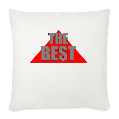 The Best, by SBDesigns - Housse de coussin décorative 45x 45cm