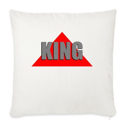 King, by SBDesigns - Housse de coussin décorative 45x 45cm