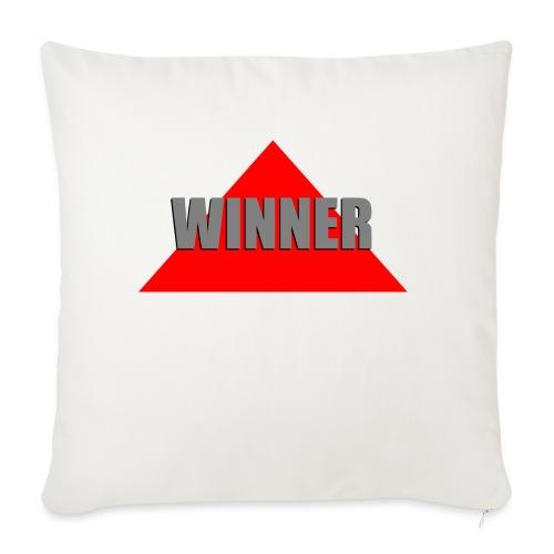 Winner, by SBDesigns - Housse de coussin décorative 45x 45cm