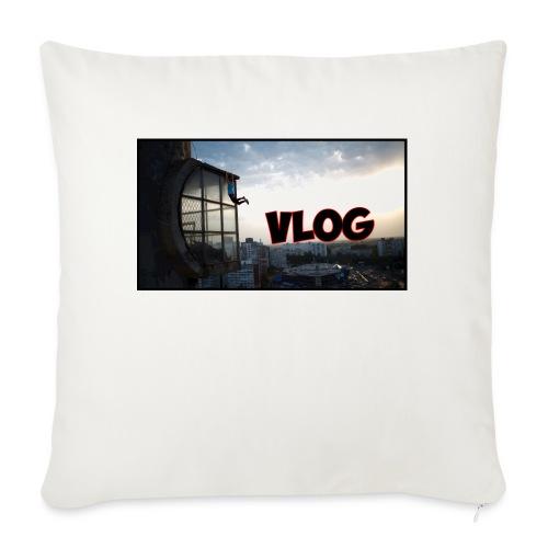 Vlog - Sofa pillowcase 17,3'' x 17,3'' (45 x 45 cm)