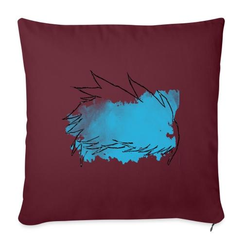 Blue Splat Original - Sofa pillowcase 17,3'' x 17,3'' (45 x 45 cm)
