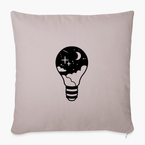 Le Ciel Dans Une Ampoule - Housse de coussin décorative 45x 45cm