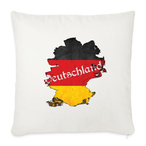 Deutschland - Sofa pillowcase 17,3'' x 17,3'' (45 x 45 cm)
