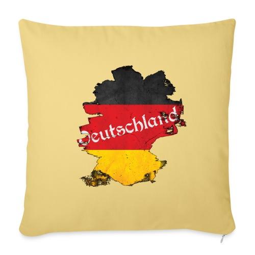 Deutschland - Sofa pillowcase 17,3'' x 17,3'' (45 x 45 cm)