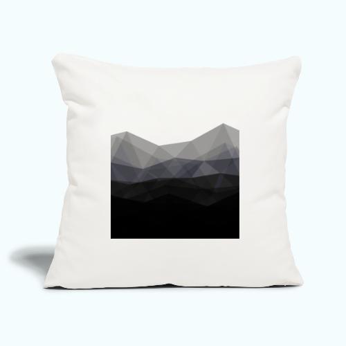 Minimalistic triangle geometry - Sofa pillowcase 17,3'' x 17,3'' (45 x 45 cm)