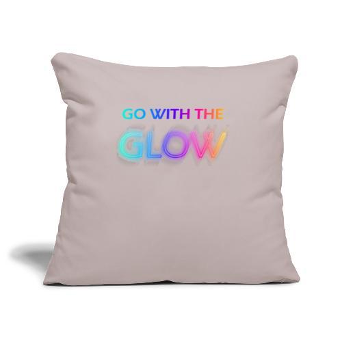glow - Housse de coussin décorative 45x 45cm
