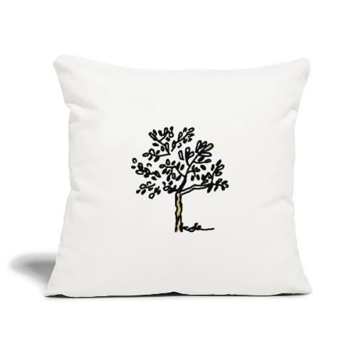 Jeune olivier - Housse de coussin décorative 45x 45cm