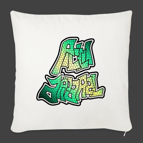 PA LOGO - 7 - Sofa pillowcase 17,3'' x 17,3'' (45 x 45 cm)
