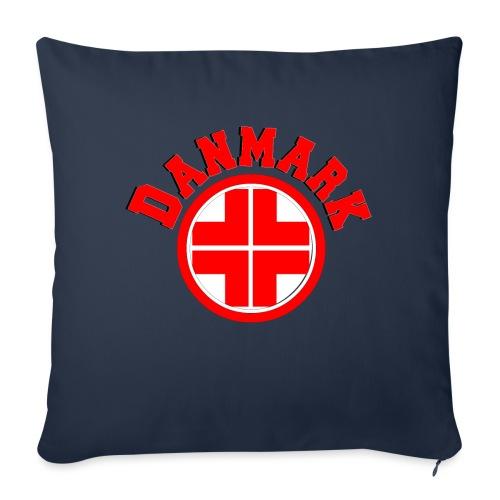 Denmark - Sofa pillowcase 17,3'' x 17,3'' (45 x 45 cm)