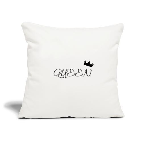 queen - Housse de coussin décorative 45x 45cm
