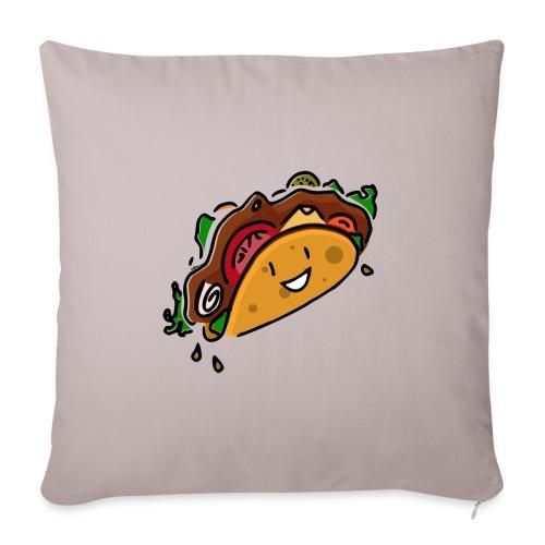 Taco Joyeux - Housse de coussin décorative 45x 45cm