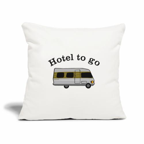 Hotel to go - Sofakissenbezug 44 x 44 cm