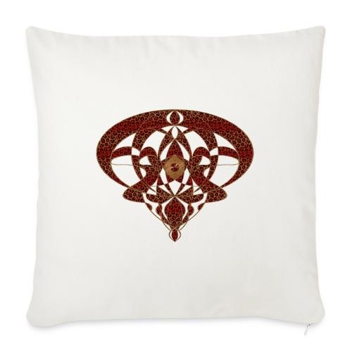 Art Nouveau Art Deco Art Nouveau Vintage Art Gold - Sofa pillowcase 17,3'' x 17,3'' (45 x 45 cm)