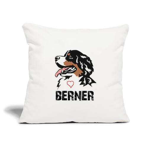 Bernese mountain dog - Sierkussenhoes, 45 x 45 cm