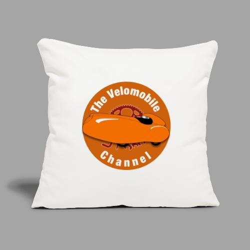 The Velomobile Channel logo - Sohvatyynyn päällinen 45 x 45 cm