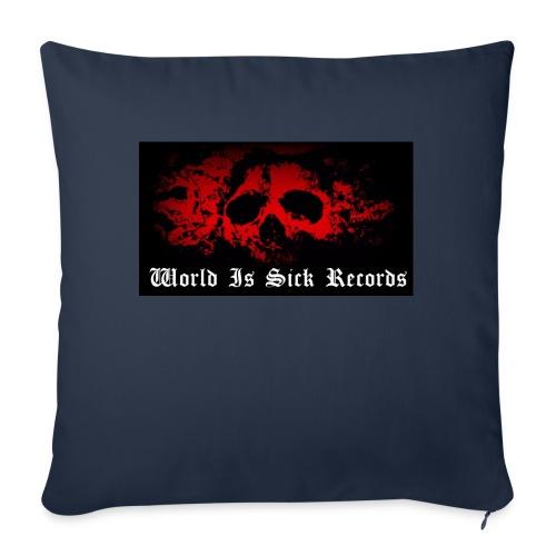World Is Sick Skull Huppari - Sohvatyynyn päällinen 45 x 45 cm