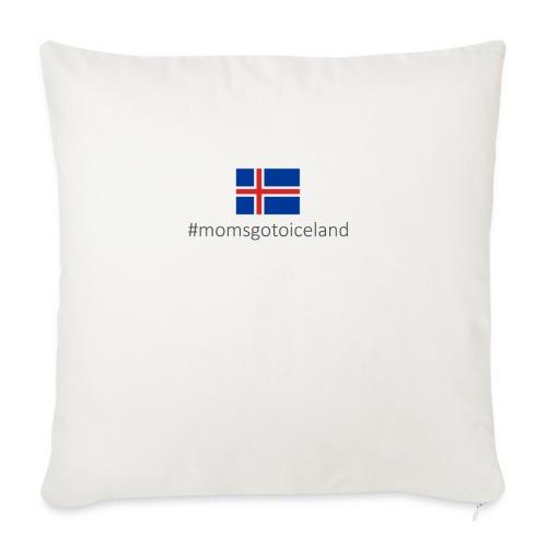 Iceland - Sofa pillowcase 17,3'' x 17,3'' (45 x 45 cm)