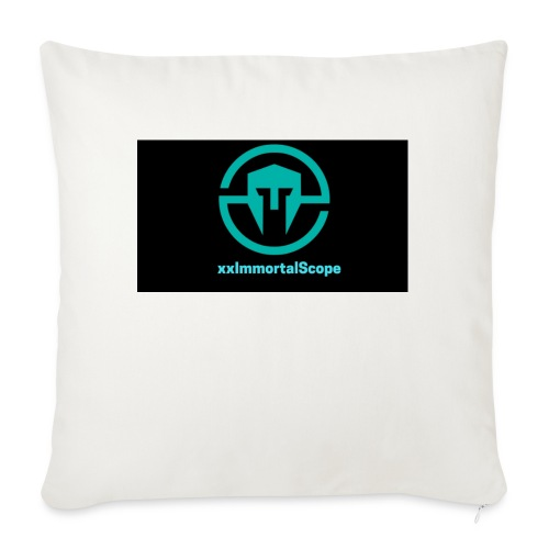 xxImmortalScope throwback - Sofa pillowcase 17,3'' x 17,3'' (45 x 45 cm)