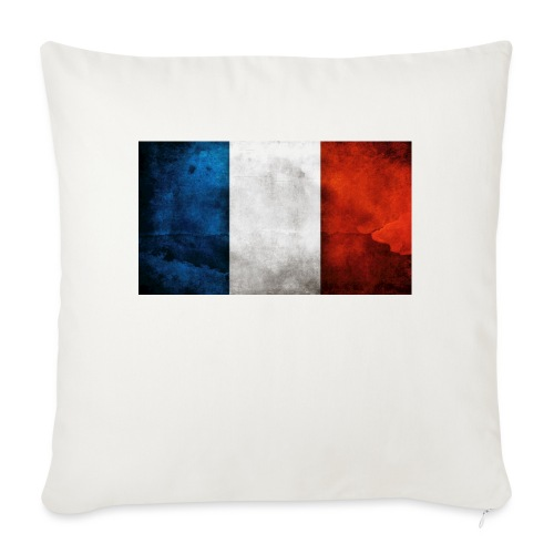 France Flag - Sofa pillowcase 17,3'' x 17,3'' (45 x 45 cm)