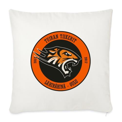 Tuiran Tiikerit, värikäs logo - Sohvatyynyn päällinen 45 x 45 cm