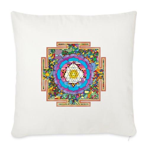 buddhist mandala - Sofa pillowcase 17,3'' x 17,3'' (45 x 45 cm)