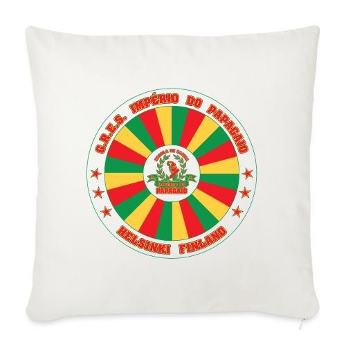 Papagaio drum logo - Sohvatyynyn päällinen 45 x 45 cm
