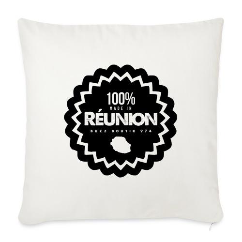 Collection 100% MADE IN REUNION - Housse de coussin décorative 45x 45cm