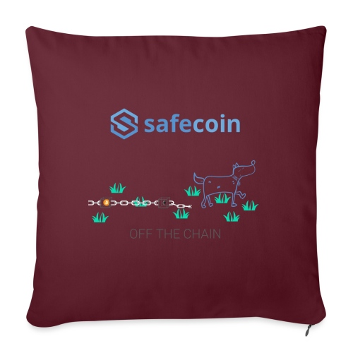 Dogey Chainfree - Off the Chain - Sofa pillowcase 17,3'' x 17,3'' (45 x 45 cm)